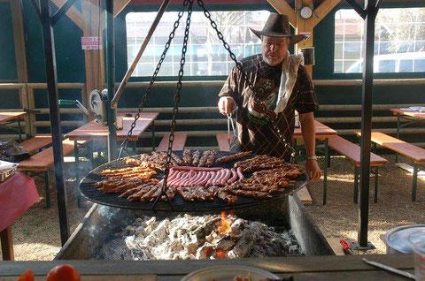 cocinando para un evento restaurante