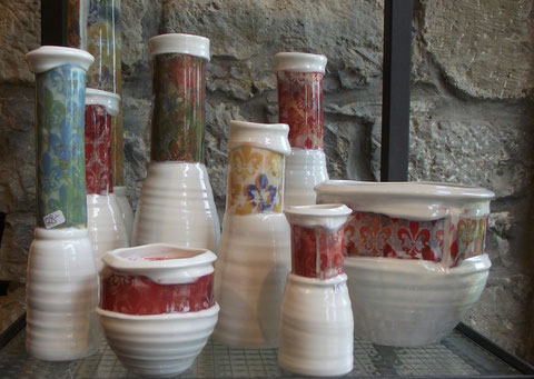 Keramik Vasen