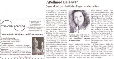 (Pressebericht, 01/2013 im Gesundheitsmagazin)