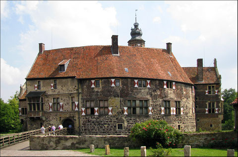 Die Hauptburg von Burg Vischering
