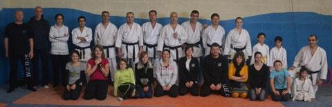 Les boxeurs de la vallée de l'Eure et les karatékas d'Acquigny réunis pour le Téléthon