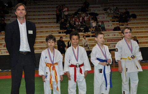 3ème place pour Léo Cognard (à droite)