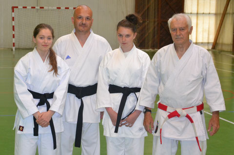 Anne Le Guern, Jean-Louis Thomassin, Mélanie Piecko et Jean-Luc Schroll