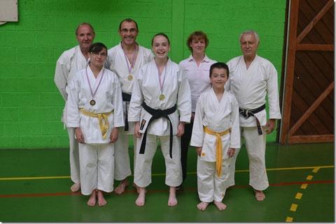 Claude Lemonnier (Président), Lisa Boudet, Philippe Boudet, Chloé Billaudot, Carole Blondel, Thibault Mouchel, Jean-Luc Schroll (Professeur)