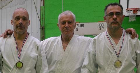 Philippe Fiault, Jean-Luc Schroll et Hervé Bussière