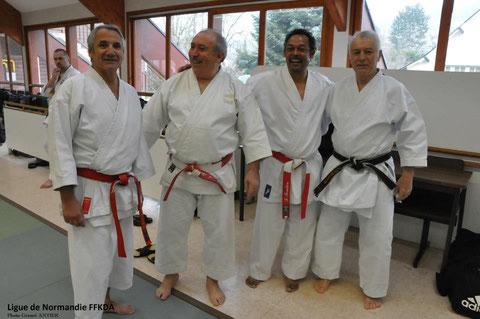 48h d'arts martiaux - Houlgate - 30/04/2013 (S.Chouraqui, A.Alves Pires, F.Fenelon et J-L.Schroll)