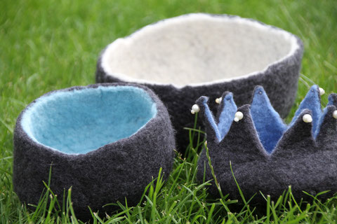 Filzschalen / bowls from felt