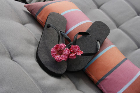 Ferien Flip-Flops / Flip-Flop for the holidays