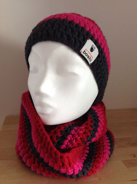 Schal und Stirnband / scarf and headband