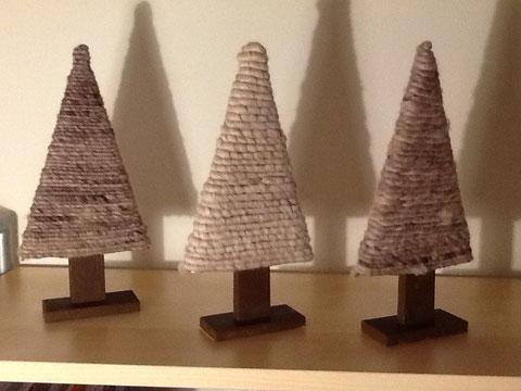Nadellose Weihnachtsbäume / Christmas trees