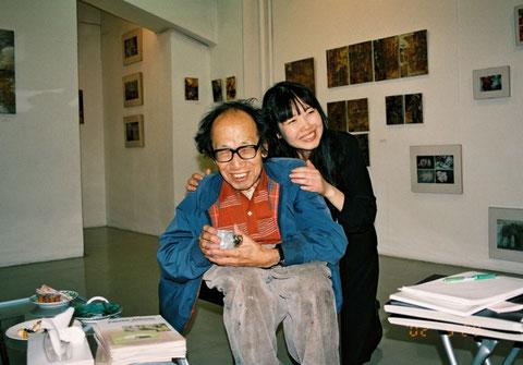 With Yukio Nakagawa  中川幸夫先生と