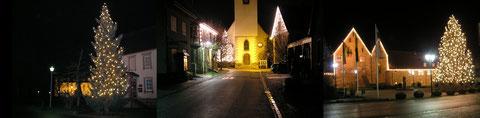 leuchtende Adventszeit in unserer Gemeinde