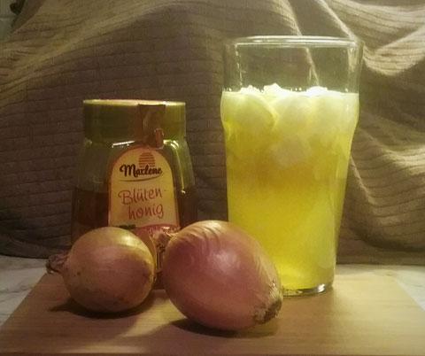 Zwiebel-Honig Sud/Ansatz