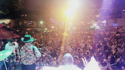 Fiestas del rio San Rafael Antioquia 11 enero 2015