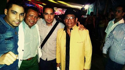 Con Enaldo Barrera diomedito