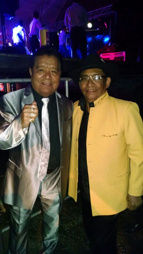 Con Pastor López - mayo 2015