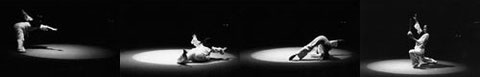 Hiah-Parh integrates modern dance and shamanic states in her trance performances