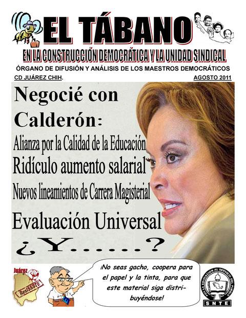 EL TÁBANO AGOSTO 2011