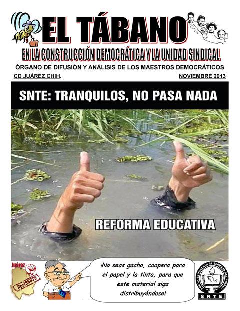 EL TÁBANO NOVIEMBRE 2013