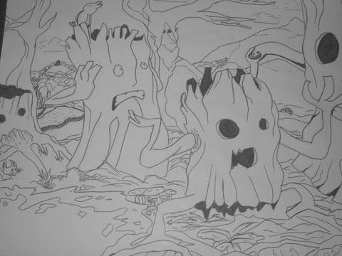 arbres et complots