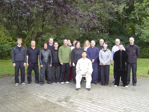 Chen Bing an unserer Schule: erstmals in Deutschland 2012