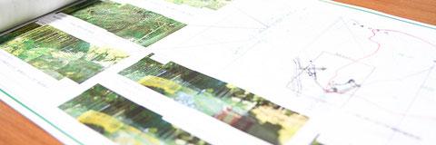 設計資料の写真
