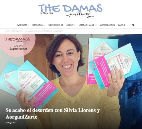 Silvia Llorens entrevistada para The Damas Blog en WOM Experience - AorganiZarte