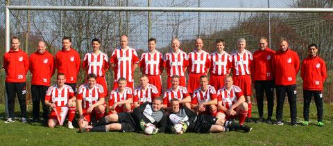 S40 Mannschaft des TSV Iselersheim