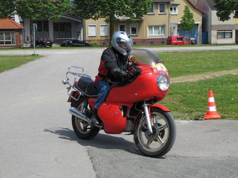 """Irgendein Blödmann hat ihr den Namen """"Güllepumpe"""" verpasst und alle quasseln es nach: Honda CX 500 von 1978"""