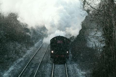 アイルランド 蒸気機関車
