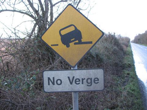 アイルランド 標識