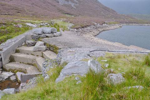 アイルランド 湖 ダム