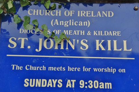 アイルランド キルデア 教会