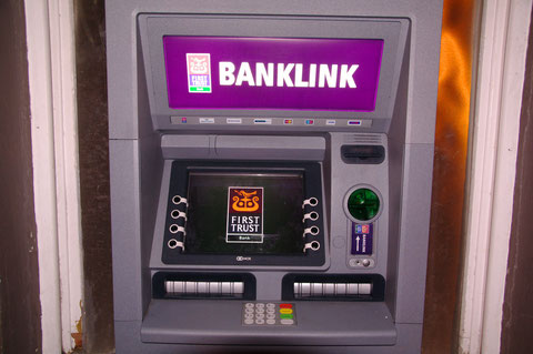アイルランド銀行 ATM