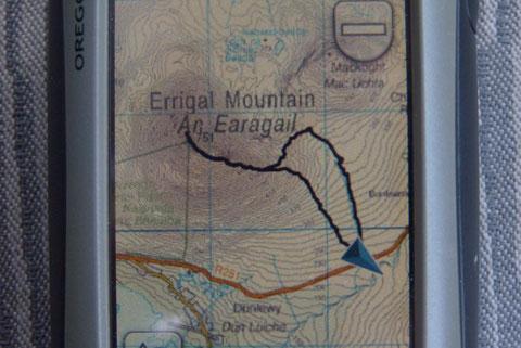ドネゴール エリガル山