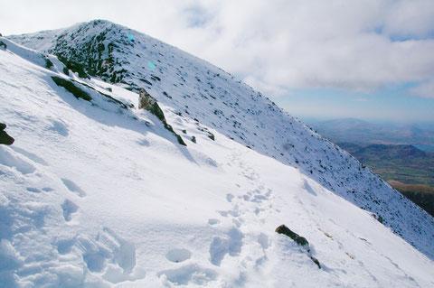 アイルランド 冬 雪
