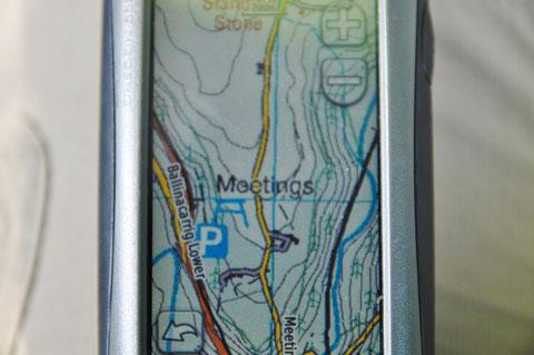 アイルランド - 旅行 - 地図 - GPS