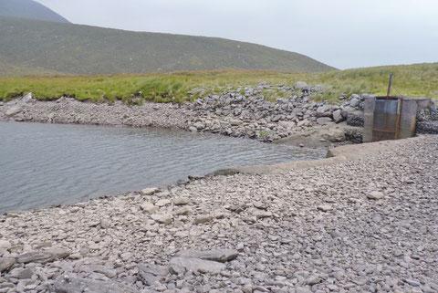 アイルランド 水力発電所 湖