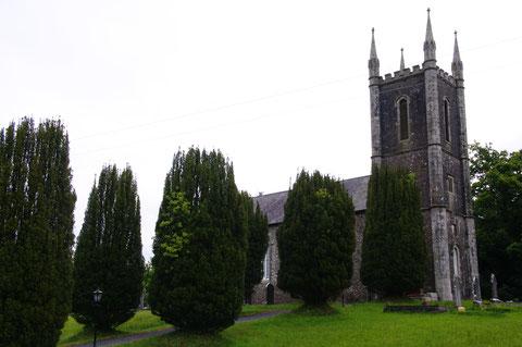 アイルランド 教会 田舎