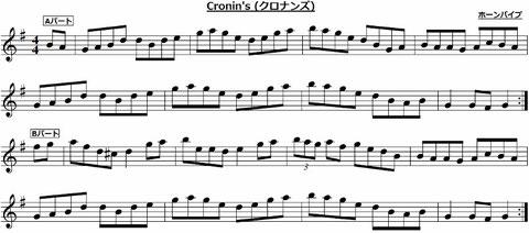 アイリッシュ アイルランド ホーンパイプ 楽譜