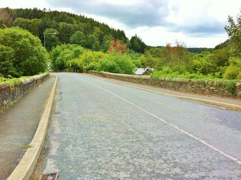 アイルランド - 田舎 - 道路 - 橋
