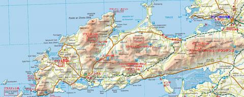 ディングル半島地図