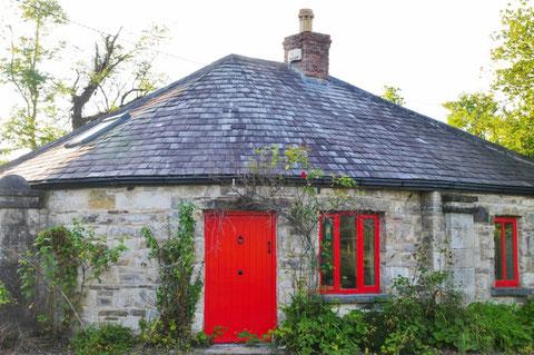 アイルランド 田舎 家