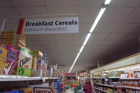 アイルランドのスーパーマーケット