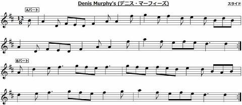 Denis Murphy's Slide デニス・マーフィーズ スライド アイルランド アイリッシュ ケルト 音楽