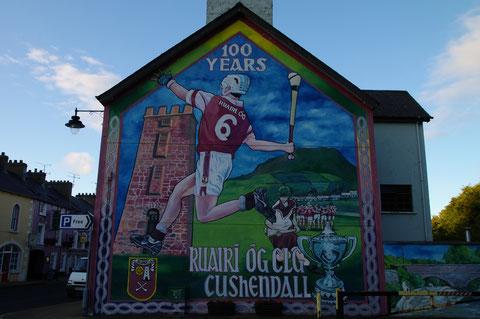 北アイルランド 壁画