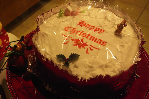 アイルランド クリスマスケーキ