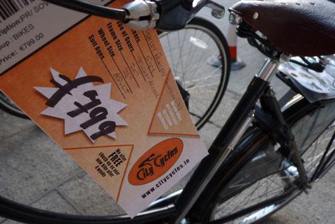 アイルランド 自転車 購入