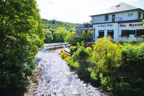 アイルランド - 川 - 田舎 - 旅行