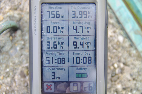 アイルランド GPS 登山